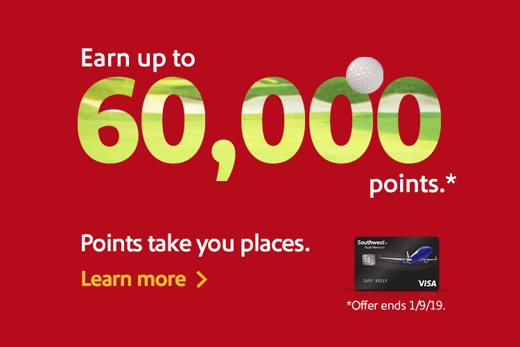 Earn Up To 60000 Points Take You Places Learn More Offer